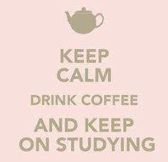 Study, Coffee