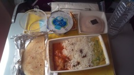 In flight meal