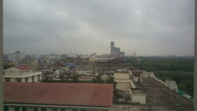 View of Kolkata outside the room
